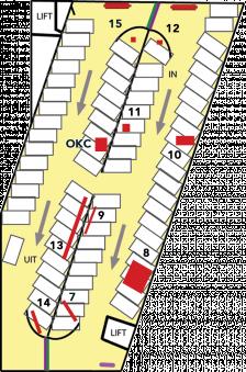 Turfschip parkeergarage verdieping GEEL