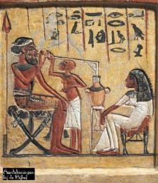 Egyptische bier brouwers