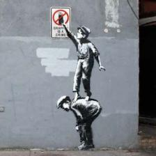 Zoektocht naar graffiti-activist