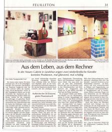 Artikel Landshuter Zeitung Feuilleton