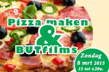 Flyer pizza maken