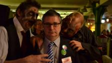 BUTFF Scientist attacked by Zombies