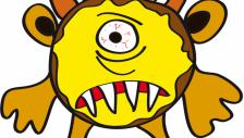 BUTFF Kinder Monster Middag